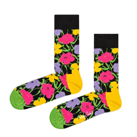 Happy Socks Andy Warhol Flower